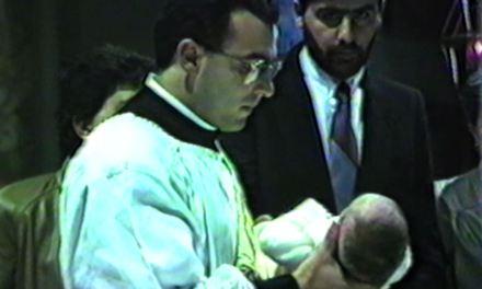 Primo Battesimo di Don Luciano Capra