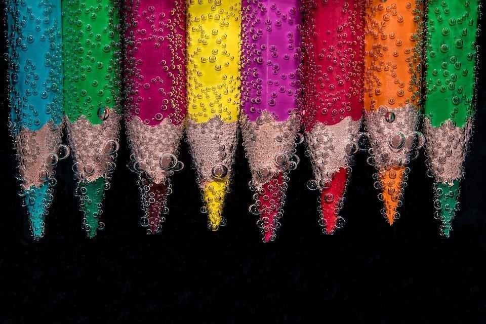 Le matite spezzate