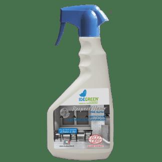 Détergent désinfectant ecocert prêt à l'emploi toute surfaces Respect Home pulvérisateur 750ml