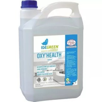 Désinfectant virucide Ecocert prêt à l'emploi Oxyhealth bidon de 5 litres