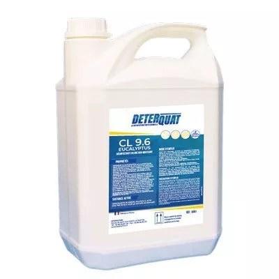 Désinfectant chloré virucide Deterquat-CL-9.6 bidon de 5 litres