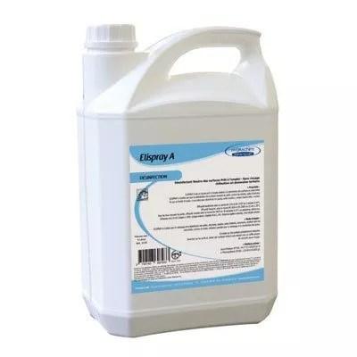 Désinfectant virucide sans rinçage Elispray-A bidon de 5 litres