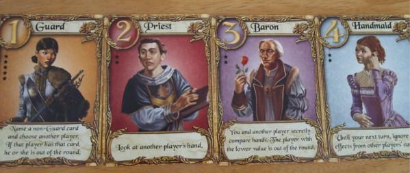 Love Letter Guard Priest Baron Handmaid