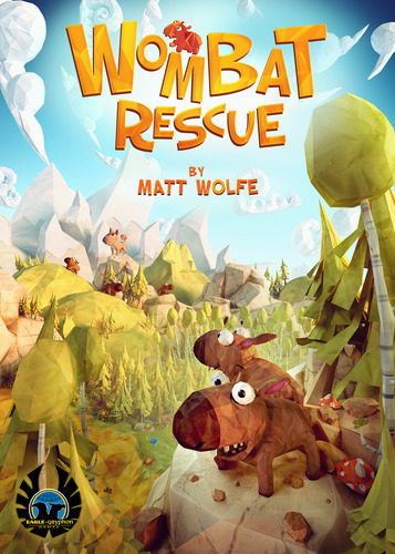 Wombat Rescue Cover