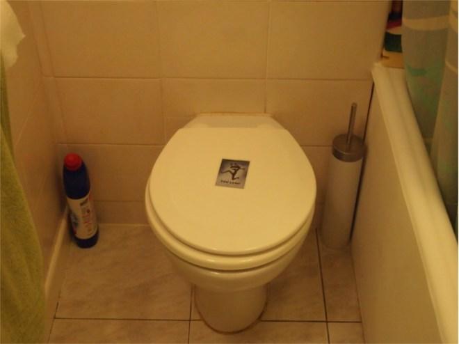 Ninja bathroom
