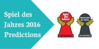 Awards Spiel des Jahres 2016