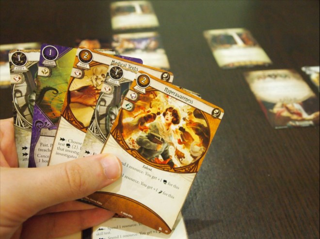 Arkham Horror Cards