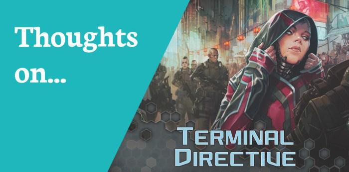Reviews Netrunner Terminal Directive