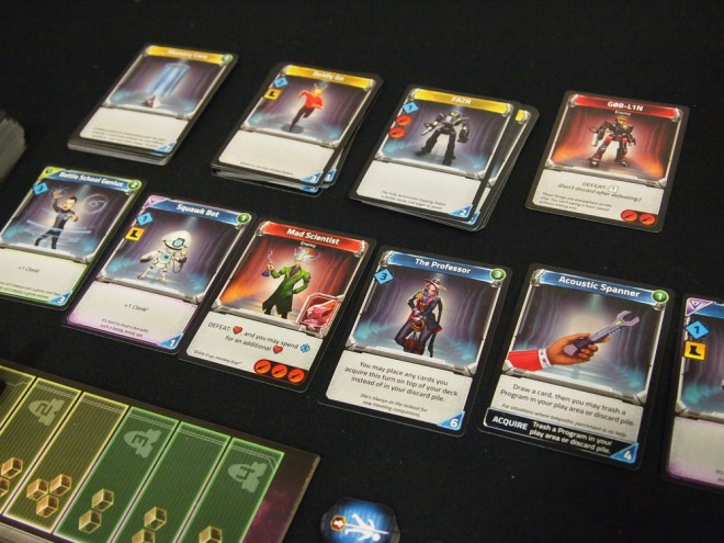 Clank in space cards