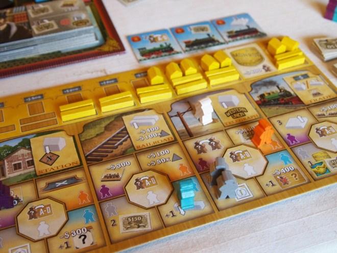 Railroad revolution player board