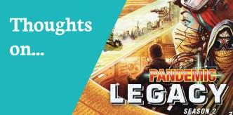 Reviews Pandemic Legacy S 2