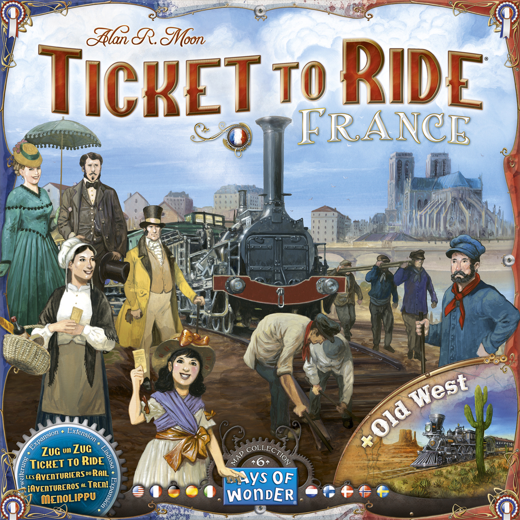 Image result for Ticket to Ride: France & Old West