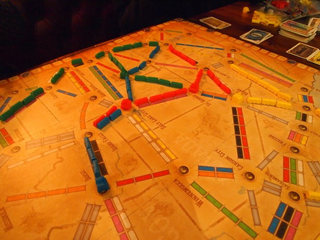 Ticket to Ride Old West Spread