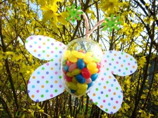 diy papillon oeuf garni pour Pâques