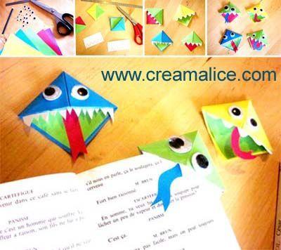 DIY_Marque_Pages_Origami