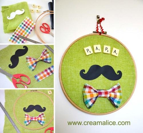 diy-cadre-deco-vintage-moustache
