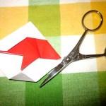 idée créative déco 1°Avril bocal poisson origami