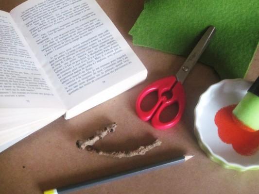 Diy Citrouille Recup Avec Un Vieux Livre De Poche