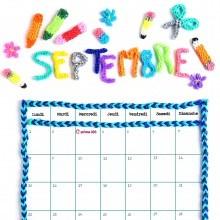 Calendrier Septembre 2014 à imprimer