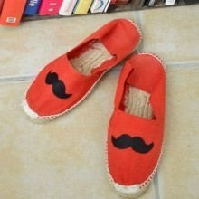 diy-espadrille-customisee-moustache