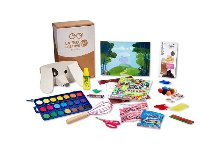 Box Créative Enfants Gulli by Tiniloo