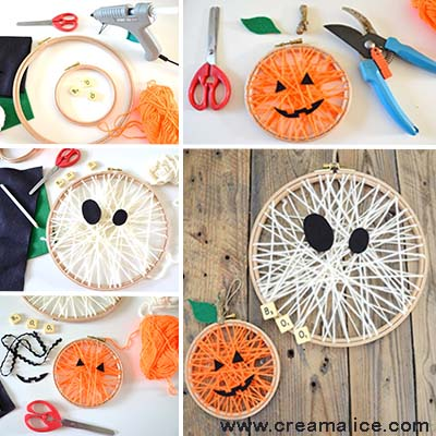 diy-deco-murale-Halloween-tissage-laine-Creamalice