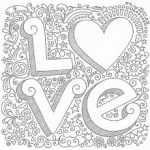 {Printable} Coloriages Coeur