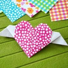 diy_coeur_ailes_origami_Saint_valentin