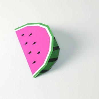 Paper Toy Pastèque