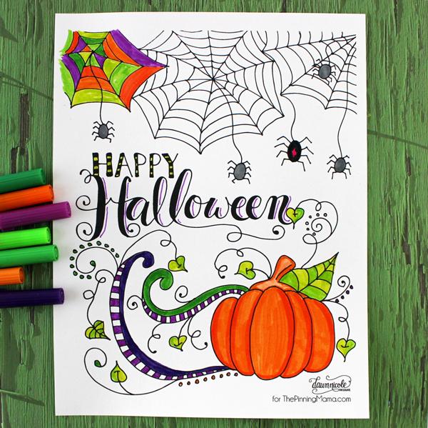 diy-printable-coloriage-happy-halloween