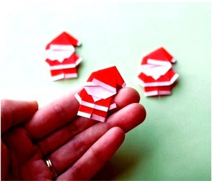 DIY Tiquettes Pre Nol En Origami