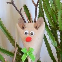diy Renne de Noël en carton - Créamalice