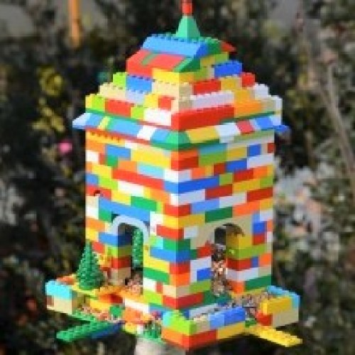 {DiY} Mangeoire à oiseaux LEGO Créamalice