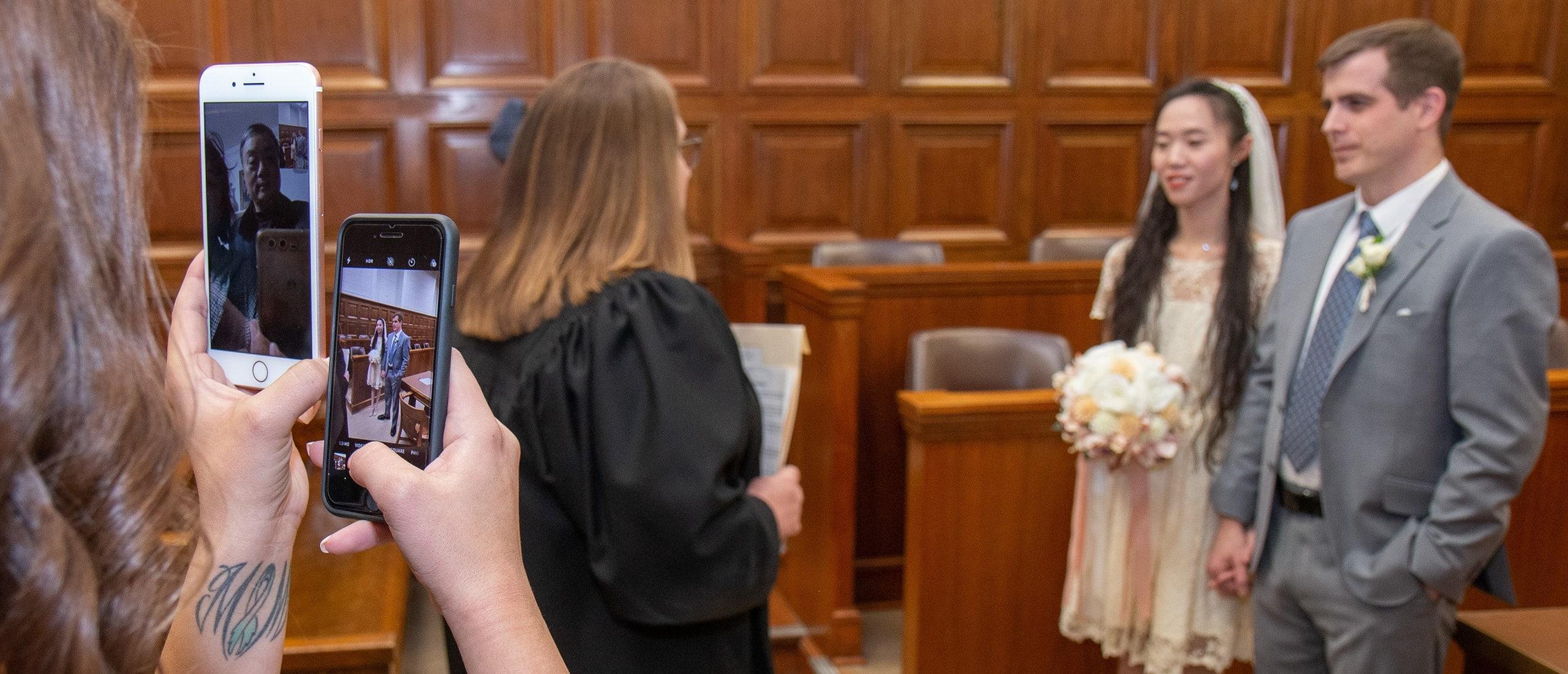 Courthouse Wedding Photographer Milwaukee WI R