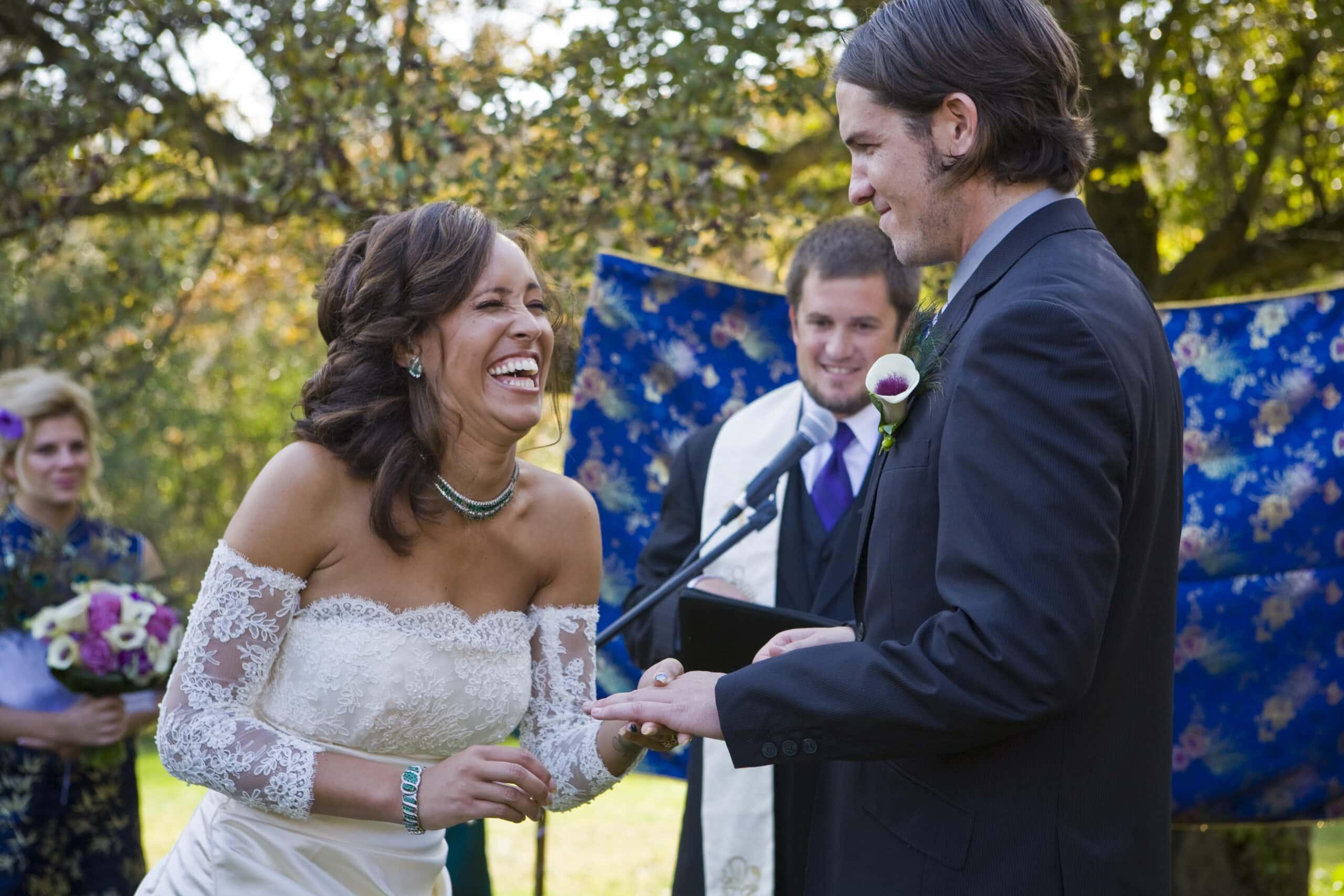 Milwaukee WI Garden Wedding Photographers