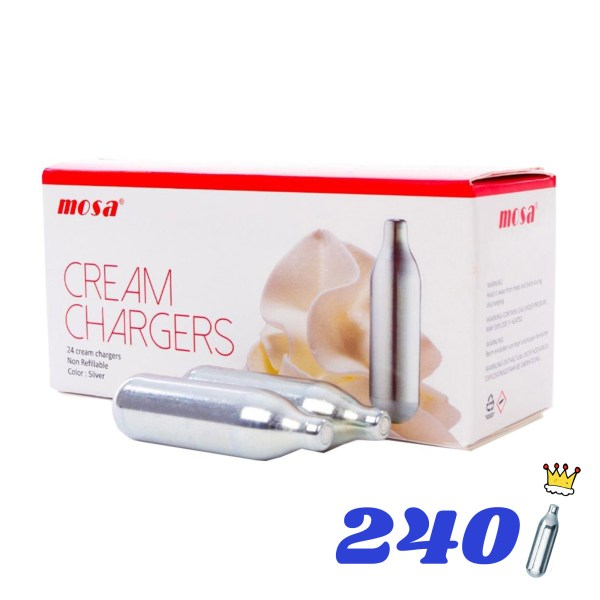 240 CREAM KINGS CREAM CHARGERS
