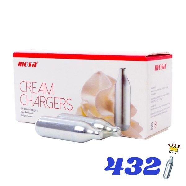 432 CREAM KINGS CREAM CHARGERS