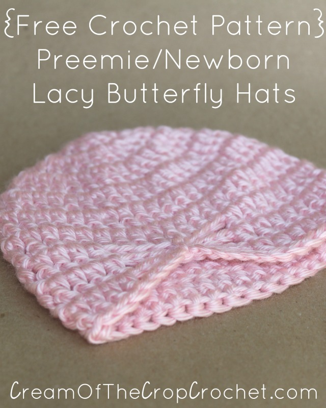 7ded06ae7e474 15 Free Preemie Hat Crochet Patterns - Crafty Tutorials