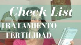 Check List tratamientos de fertilidad