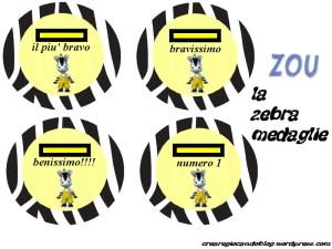 zebra medaglie generali