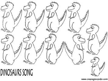 canzone dei dinosauri