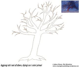 Mondrian albero