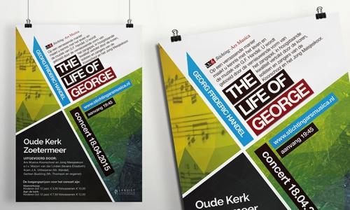 Poster Stichting Ars Musica (VI)