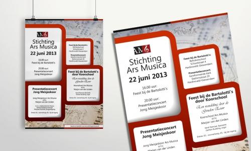 Poster Stichting Ars Musica (II)