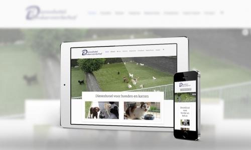 Website Dierenhotel Donkervoorterhof