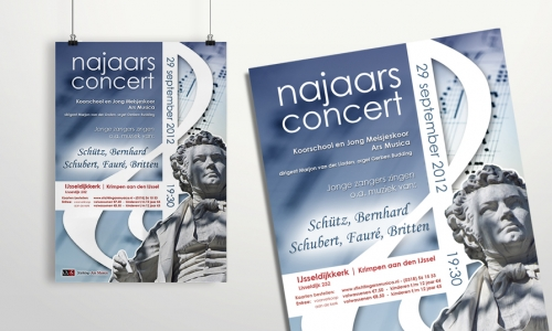 Poster Stichting Ars Musica (I)