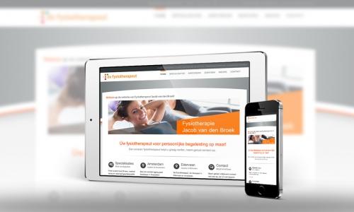 Website Fysiotherapie Ederveen