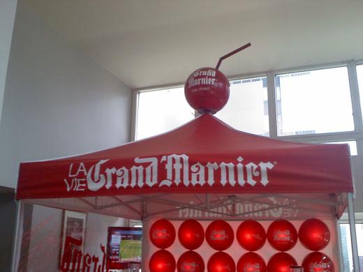 Creatacor and Soho Experiential Grand Marnier Event Sets