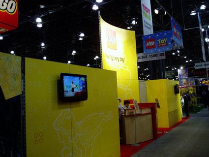 LEGO Exhibit Toy Fair 2010