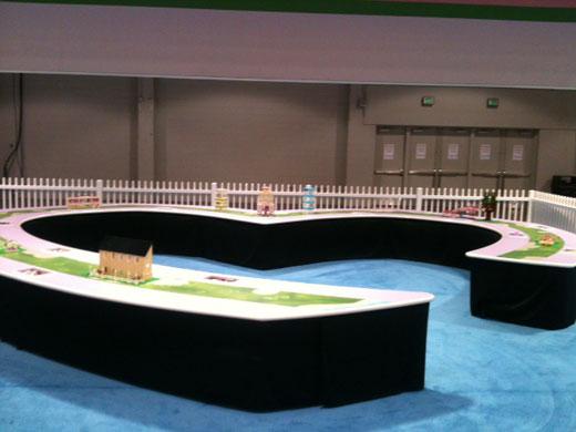 LEGO KidsFest Ohio - Friends exhibit